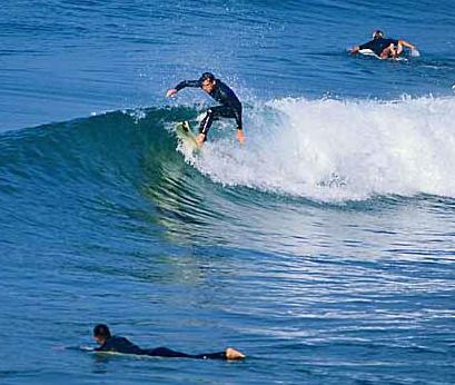 Surfen als watersport
