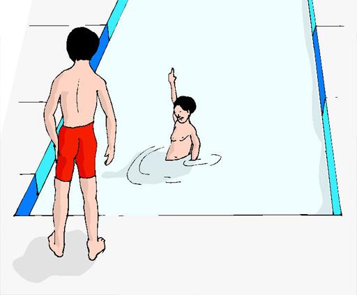 Zwemles bij een zwemschool