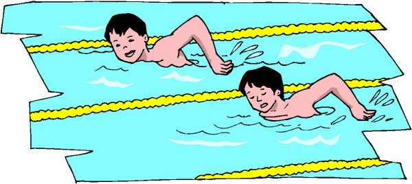 Wedstrijden zwemmen
