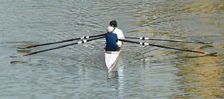 Roeien als watersport