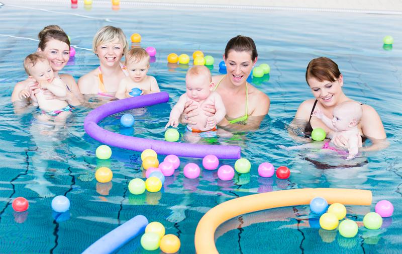 Baby- en peuter zwemmen