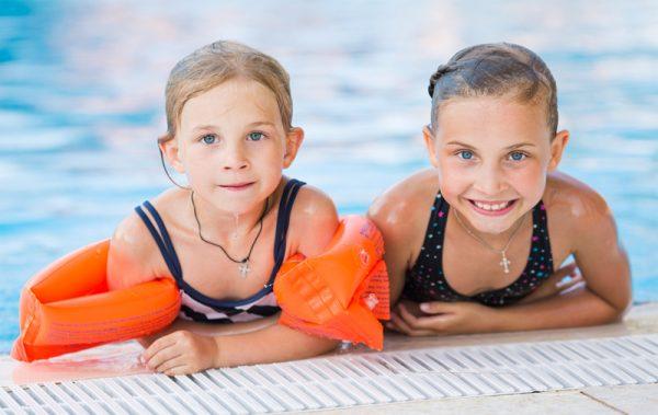 Verschillende zwemlessen
