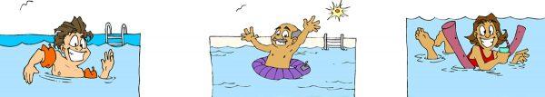 hulpmiddelen bij het zwemmen